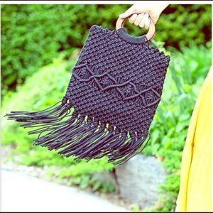 Fabulous Danielle Nicole Macrame Handbag